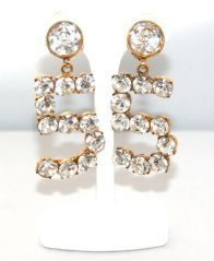 Exceptional Chanel n°5 Earrings image 2