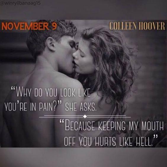 Colleen Hoover - November 9: