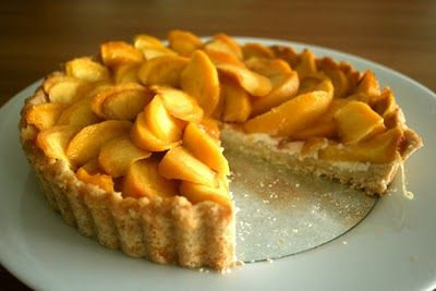 mini peach tart-or at least it will be