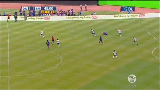 RT @FCFSeleccionCol: #COLvsHAI Termina el primer tiempo en el estadio Marlins Park. COL 1 - HAI 1. #VamosMiSele . RT @GolCaracol: EN VIVO: Final del primer tiempo. Colombia 1-1 Haití https://t.co/mE9tlV0Yoy  #VamosColombia https://t.co/3IBgscr2k5
