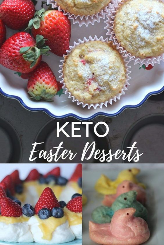 Keto Easter Desserts : Low Carb Easter Dessert Recipes