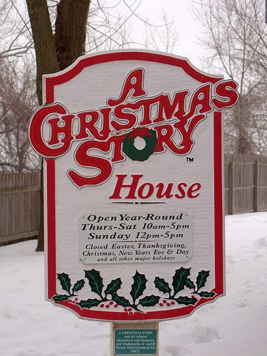 """A Christmas Story"" house in Cleveland, Ohio...take the tour! And one of our fav Christmas movies of all time! You'll shoot your eye out kid:) haha. I wanna go sooo bad!!"