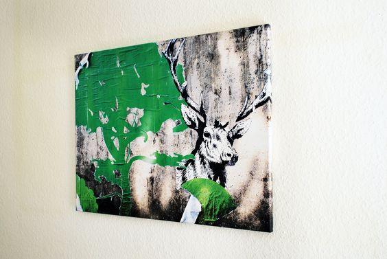 Deer 80x60x2 cm