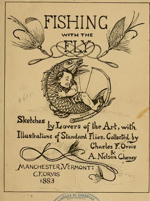 check out this seminal book in the history of american fly fishing, Fly Fishing Bait