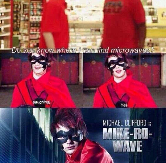 5 seconds of summer funny Michel Clifford mike-Ro-wave