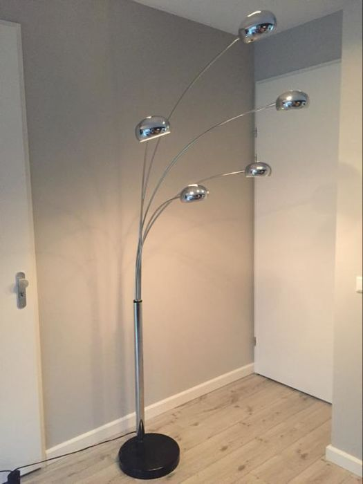 Large 5 Arm Chomen Floor Lamp Vintage Meubels Vloerlamp Meubels
