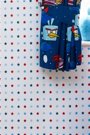 Buy Blue Stars Wallpaper from the Next UK online shop