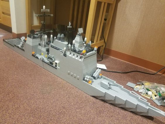 The Armoury: Valiance Class Guided-Missile Destroyer by militaryfreak
