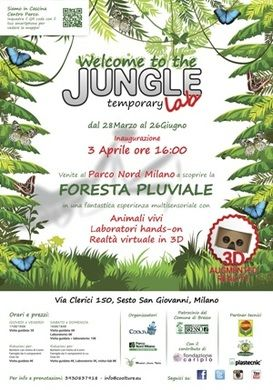 Foresta pluviale parco nord