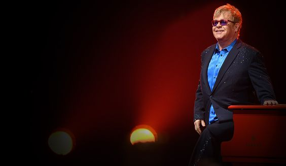 Elton John's Impromptu Train Station Concert: He Left His Piano Behind!