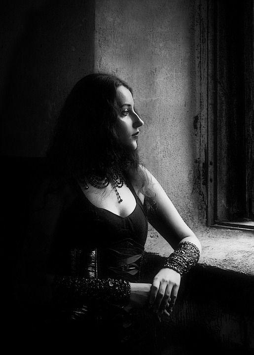 gothic porträt
