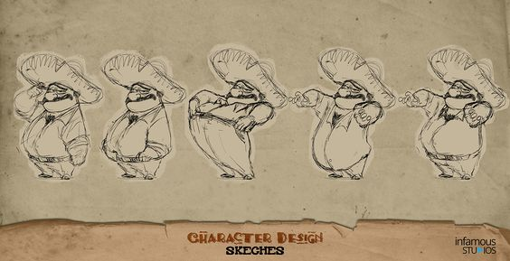 DORITOS UAE CHARACTER DESIGN sketches on Behance