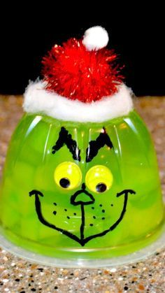 How To Make Grinch Jello Cups