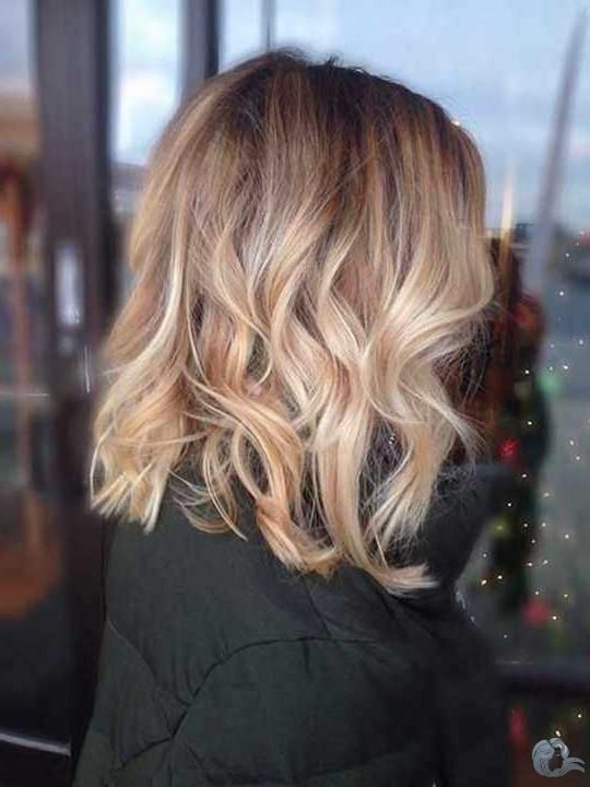 30 Blonde Long Bob Haar 2020 Balayage Frisur Balayage Haare Blond Honigblond Haarfarbe
