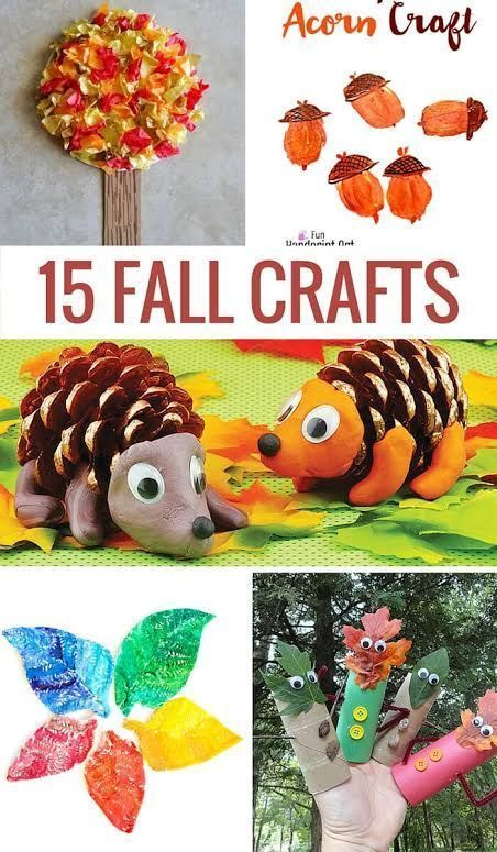 Fall crafts, Fall crafts for kids and Crafts on Pinterest