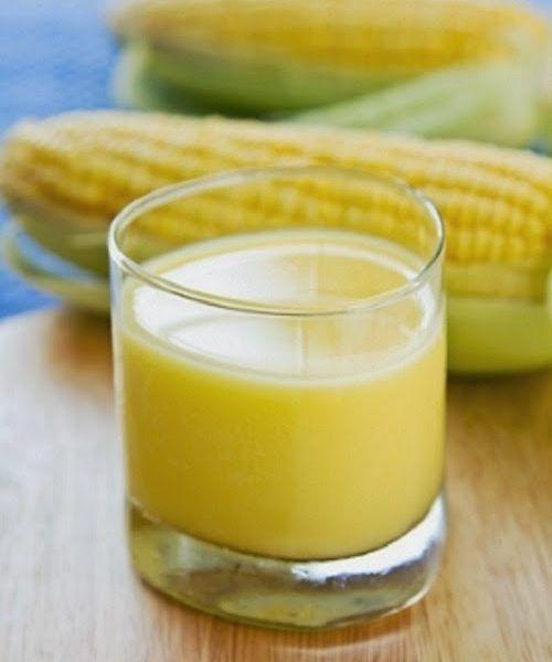 Suco De Milho Verde E Nutritivo E Ajuda A Reduzir Glicose E