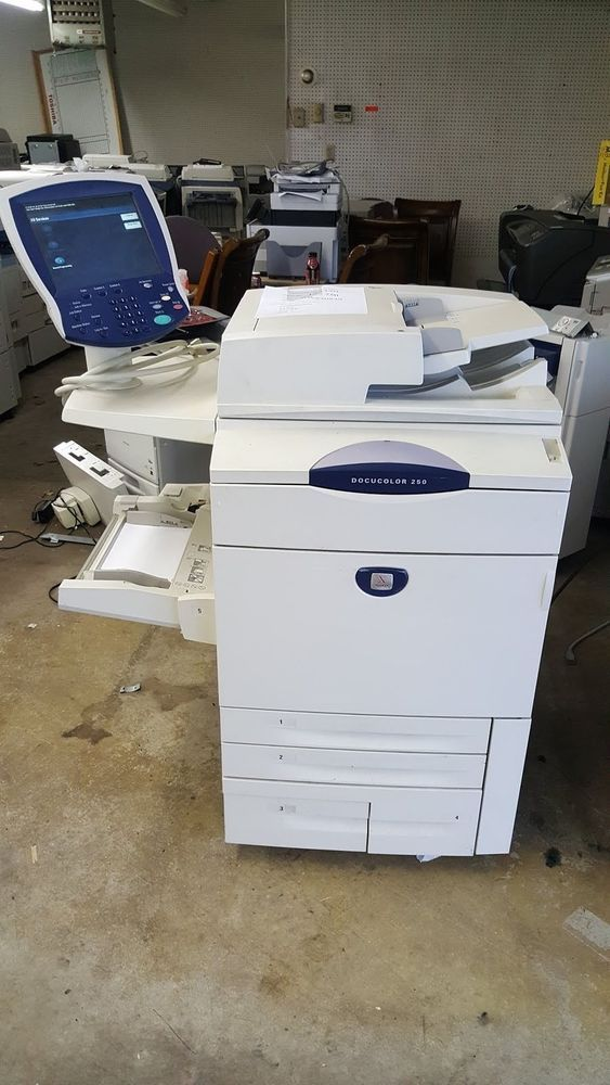Xerox Docucolor 250 Digital Color Copier Printer Xerox Printer