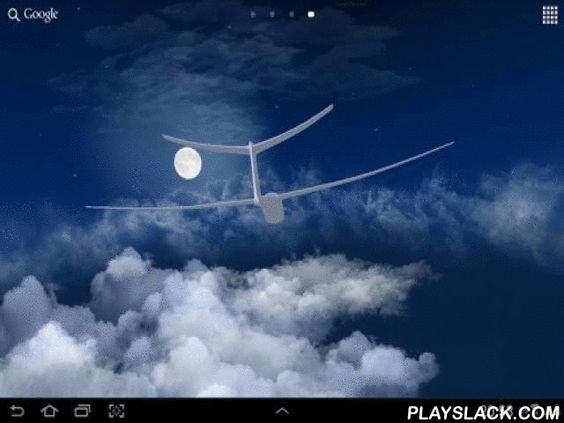 Flight In The Sky 3D  Android App - playslack.com , Flight in the sky 3D - feel comfort and an appeasement, take feeling in condition and part. The plane smoothly dissects infinite clouds against background, which changes from the day time.