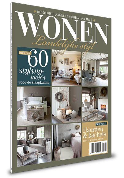 Wonen landelijke stijl magazine aanbod tijdschriften for Wonen landelijke stijl