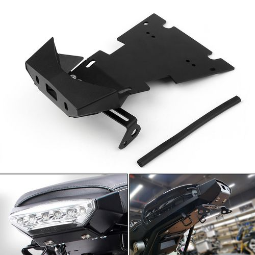 License Plate Tail Light Bracket Turning Signal Mount For Bmw R Ninet 15 17 Black Bmw Tail Light License Plate
