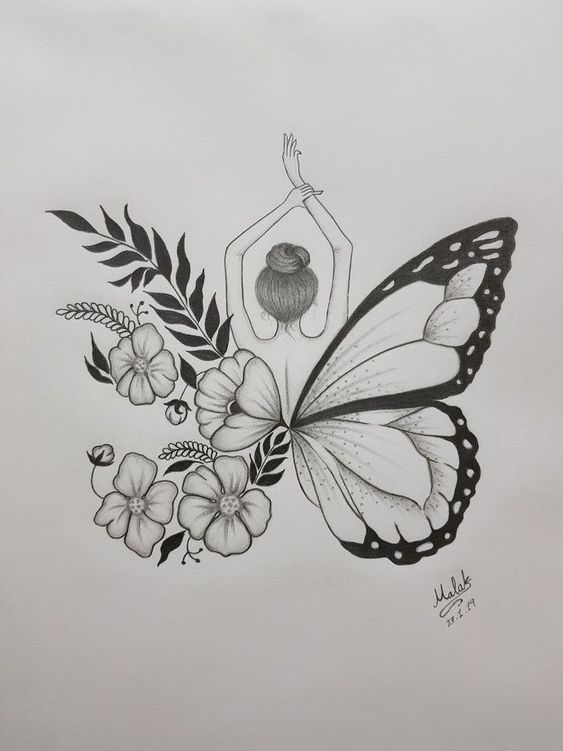 Diseno De Alas De Mariposa