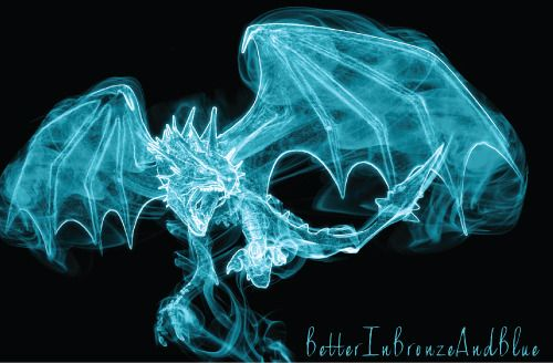 Dragon For Allwaswellhun On Having A Magical Patronus Most Uncommon Of All Possibly Patronuses Are Magical Harry Potter Patronus Harry Potter Dragon Patronus