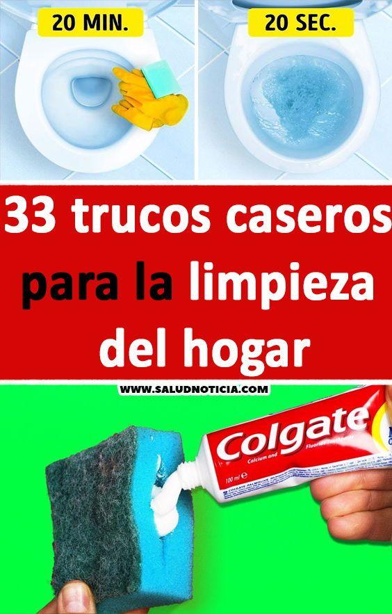 33 Trucos Caseros Para La Limpieza Del Hogar Limpieza De