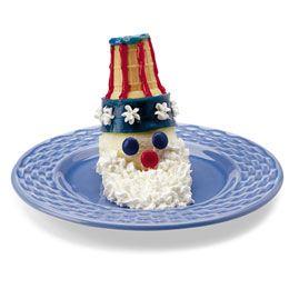 Uncle Sam ice cream cones!!