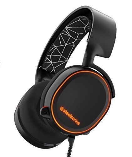 Steelseries Arctis 5 Gaming Headset With Rgb Illumination And Dts Headphone X 7 1 Surround For Pc Playsta Best Gaming Headset Gaming Headset Gaming Headphones