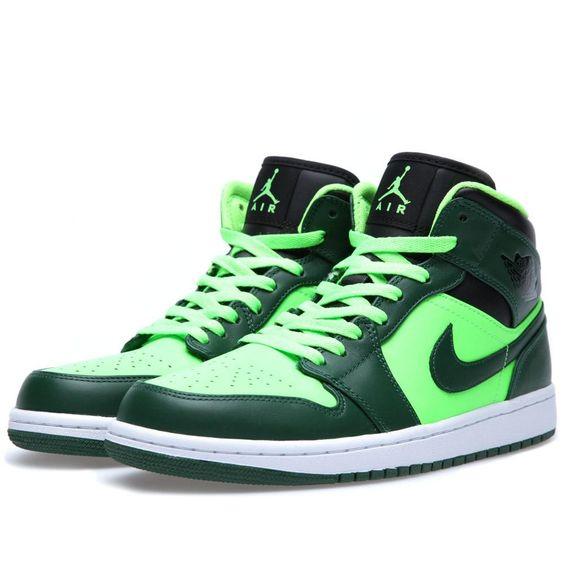 nike shox femmes précises de - Nike Air Jordan I Mid 'Oregon' (Gorge Green & Black) | KICKS ...
