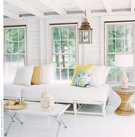 Light and beachy from Christine Ralphs and Michelle Lloyd! #laylagrayce #living