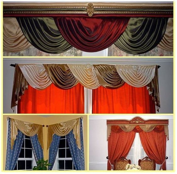 Valances and cornices