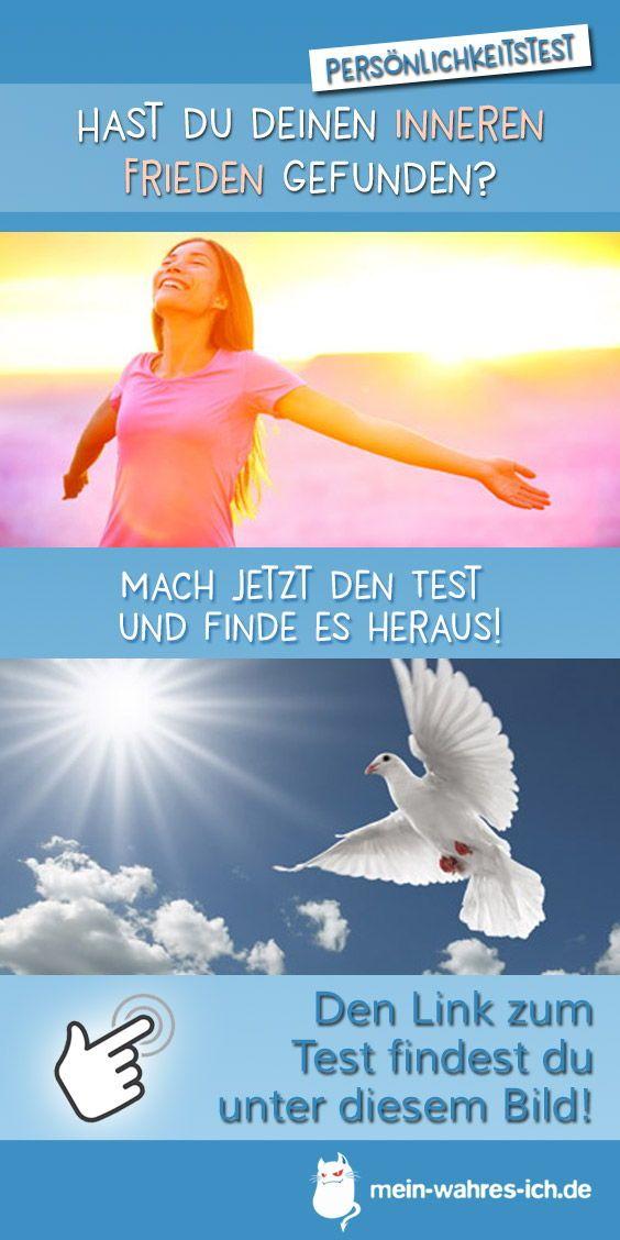 Hast Du Deinen Inneren Frieden Gefunden Innerer Frieden Frieden Selbsterkenntnis