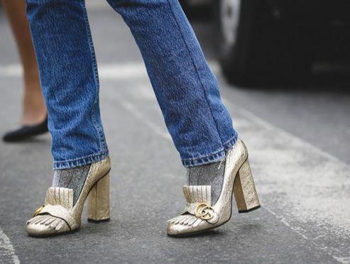 #StreetStyle #Details #Jeans #Socks #Gucci #Marmont #Pumps: