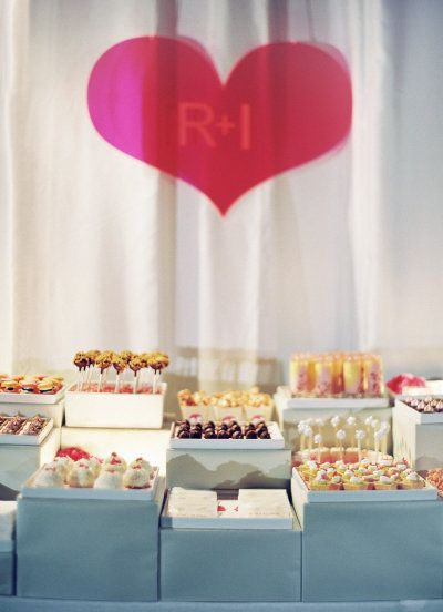 ... et desserts tables à dessert buffet de fête tables photographie