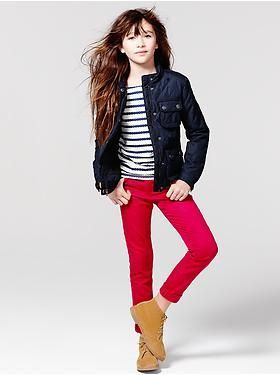 Kids Clothing: Girls Clothing: The Outfits 10 Pieces, 5 Days   Gap