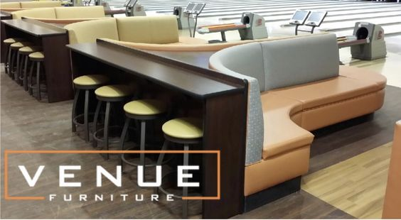 #chairs #bowling #furniture #venue #sofa #sectional #quality #modern #bar  #bowlingsofa #coffeetable | Bowling Furniture | Pinterest | Bowling