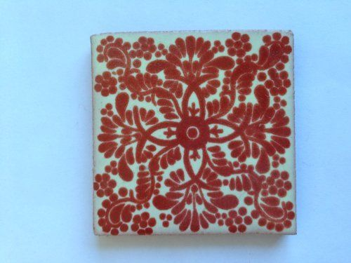 Fairly Traded Hand Painted Ceramic Mexican Tile - 5cm x 5cm by Tumi, http://www.amazon.co.uk/dp/B00HW4TYLI/ref=cm_sw_r_pi_dp_SGbrtb14ZGJWH