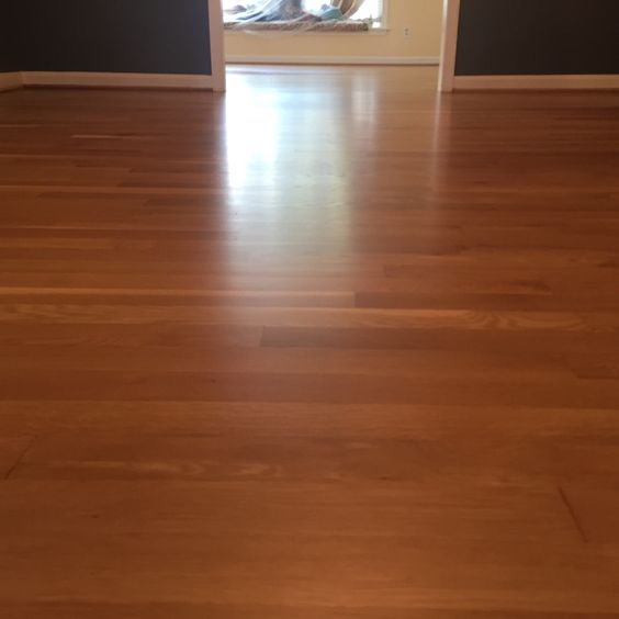 Old white oak with natural stain and pallmann x96 matte for Floor varnish matt