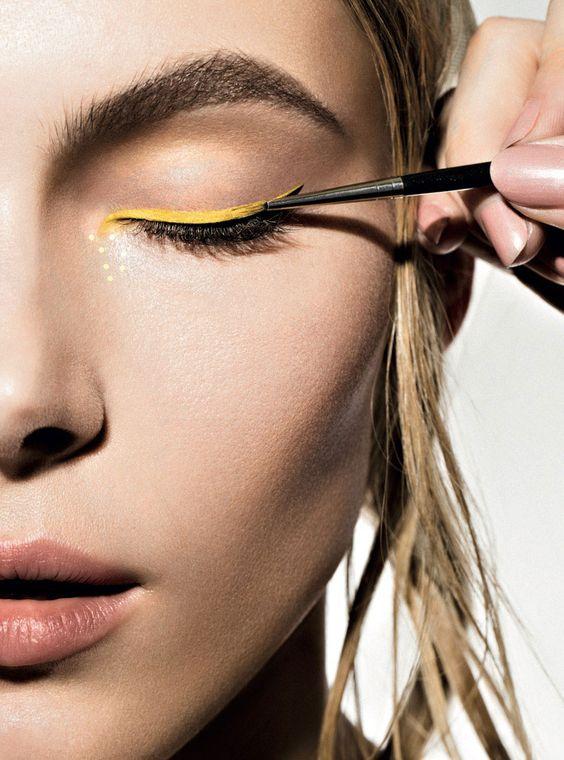 Allegra-Carpenter-by-Kourosh-Sotoodeh-for-inCOVER-Magazine-yellow-eyeliner
