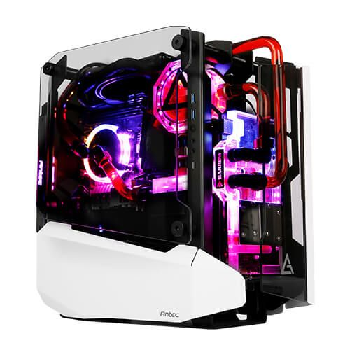 Antec Striker Mini Itx Chassis With Water Cooled Cpu And Gpu