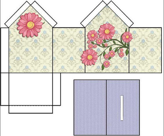 Tirelires imprimer tirelire pinterest tirelire - Gabarit maison en carton ...