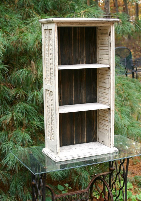 Primitive country bathroom ideas - 1000 Ideas About Repurposed Shutters On Pinterest Old Shutters