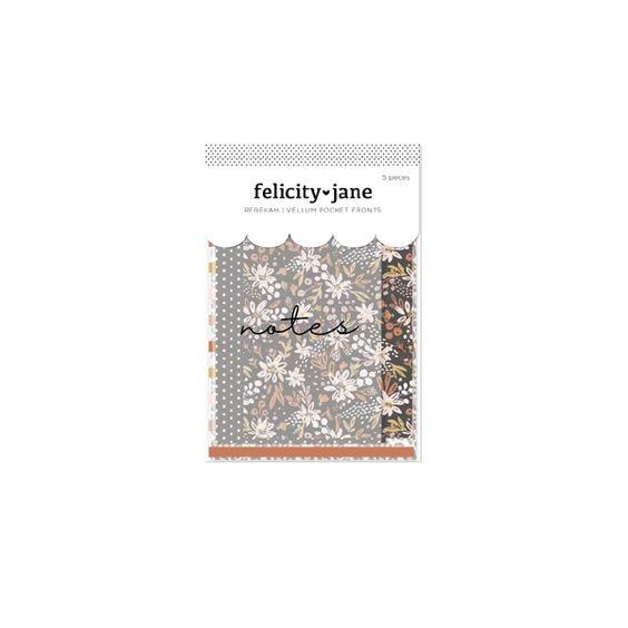 Felicity Jane Vellum Pocket Fronts