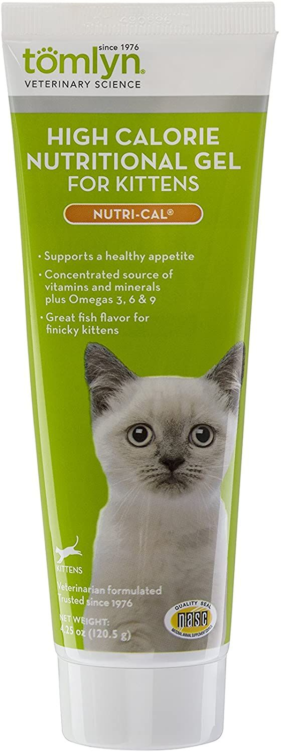Tomlyn Nutri Cal High Calorie Nutritional Gel For Cats And Kittens 4 25oz Find Out More About The Great Product At The Image Link In 2020 Nutrition Nutri Cat Health