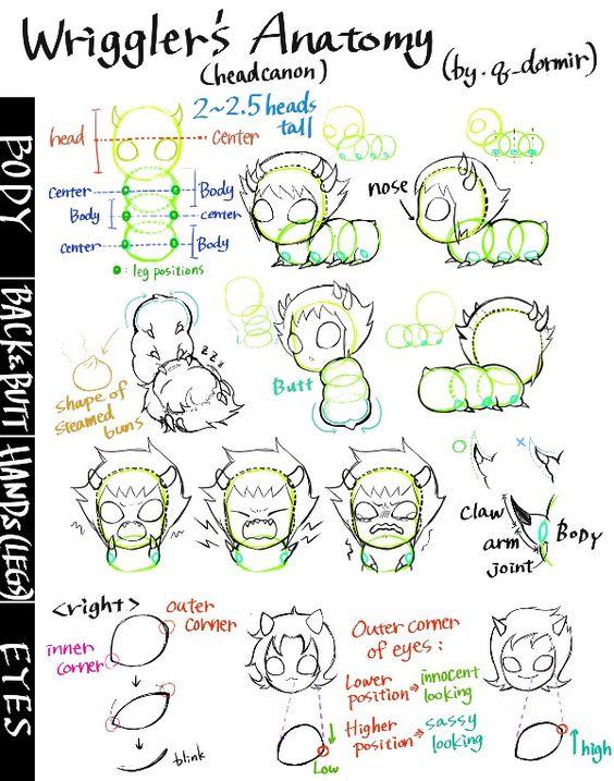 grub anatomy grub cuteness pinterest homestuck haha