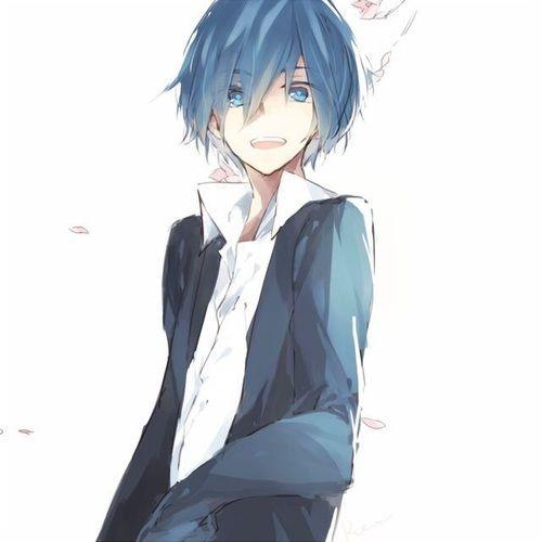 Husband S Mafumafu Soraru Blue Hair Anime Boy Blue Anime Anime Blue Hair