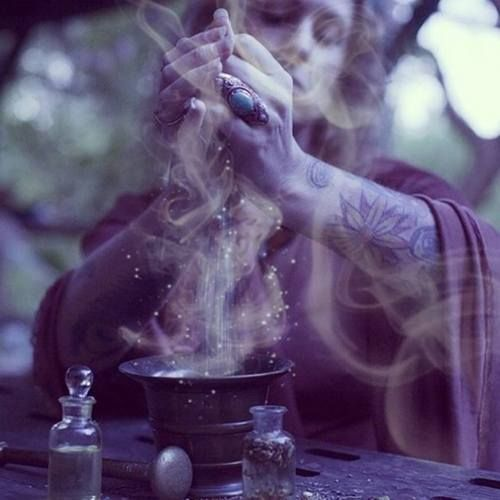 photography Glitter beautiful smoke tattoos dark ink woman Witch witchcraft spell HERBS occult magick wiccan pagan wicca potion witchy magickal
