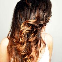 DIY ombre hair.