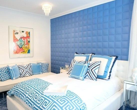 modern mansion bedroom for girls blue - Google Search ...